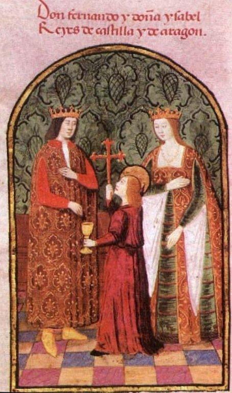 Феодинанд и Изабелла. Короли Испании. фото: Википедия