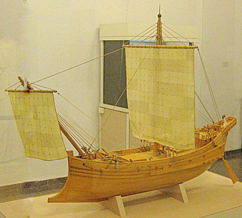 rimskij-torgovyj-korabl-gruzopodemnostyu-500-tonn-maket-iz-muzeya-ralli-kejsariya