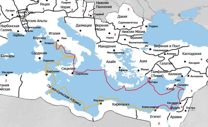 Karta-marshrutov-plavaniya-iz-Aleksandrii